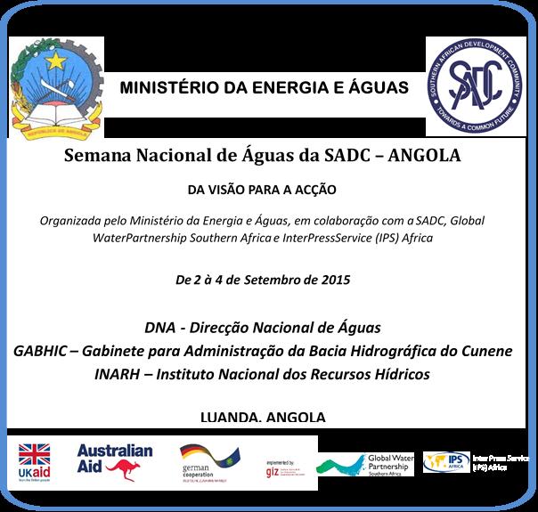 O evento é parte de um objectivo mais amplo que visa recolher contribuições para a elaboração do Quarto Plano de Acção Estratégico Regional da SADC (RSAP) para a Gestão Integrada dos Recursos...